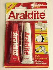 1 x Araldite 5 Minute Rapid  AB Epoxy Adhesive High Performance - UAF5