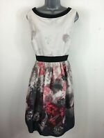 BNWT WOMENS M&S AUTOGRAPH ANTIQUE ROSE IVORY PINK FLORAL OCCASION DRESS UK18 £69