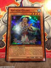 Carte YU GI OH NATALIA GISHKI HA07-FR040 x 2