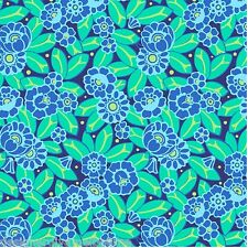 Amy Butler - Violette Camellia in Sky cotton quilting fabric