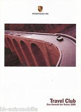 1120PO Porsche Prospekt Travel Club 1999 2000 11/99 Reisen brochure