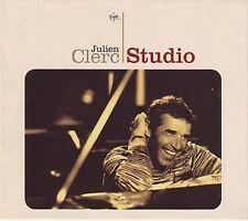 """Julien CLERC """"Studio"""" (CD COFFRET) Livret 32 pages NEUF"""