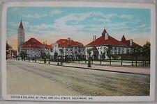 1925 Goucher College St Paul & 23rd Street Baltimore, MD