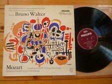 Mozart la Philharmonische SINFONIA ORCHESTRA New York/Columbia BRUNO WALTER LP