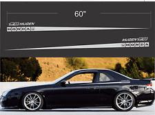"Honda Mugen decal sticker 60"" long JDM Prelude car window race civic crx decal"