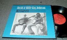 DAVID & BILLIE RAY JOHNSON BLUE GRASS LP FOLKWAYS