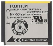 Genuine Fujifilm NP-50 Battery Pack 3.6V 1000mAh