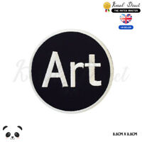 Art Music Logo Embroidered Iron On Sew On Patch Badge For Clothes etc