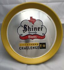 VTG 1990s Shiner Specialty Beers Livestrong Challenge Tray Armstrong Foundation