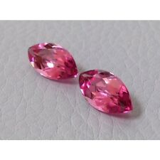 Natural Pink Tourmaline Pair Reddish Purplish Pink color 3.80 carats