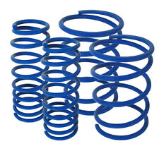 2005-2011 Ford Mustang Cobra Jet Performance Lowering Lower Spring Kit Blue