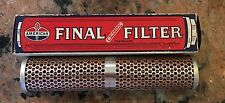 1950S 60S American Oil Final Filter Element For Gas Hose Line NOS NIB