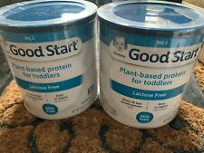 2 Gerber Good Start Plant Based Protein Lactose Free Inf Formula exp 10/25/2021