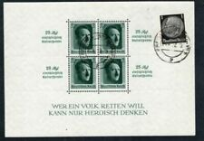 Used Sheet German & Colonies Stamps