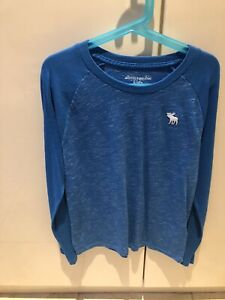 Boys Abercrombie & Fitch , Grey Long Sleeved Tshirt Aged 9-10