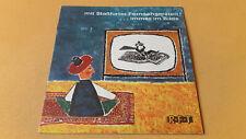 mit Staßfurter Fernsehgeräten...immer im Bilde, RFT Fernseher - Radio, 1964