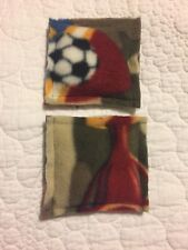 Reusable Hand Warmer / Ice Pack - Handmade - Set of 2 Ocean Scented Soccer Camo