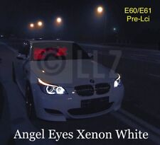 BMW E60 E61 Pre-Lci LED XENON BRIGHT WHITE SideLight Angel Eyes Halo Rings Bulbs