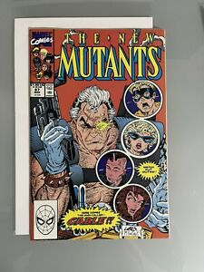 New Mutants #87 - 1st App Cable - First Print **Key Issue** NM/VF+