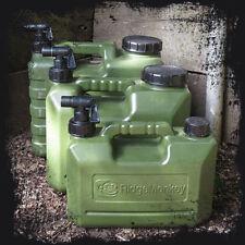 Ridgemonkey Heavy Duty 10ltr Water Carrier Jerry Can Tap Bottle Ridge Monkey