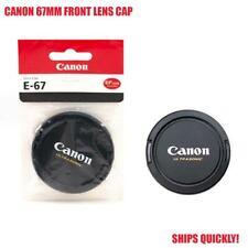 NEW! 100% GENUINE OEM CANON ULTRASONIC E-67 67MM FRONT LENS CAP - SHIPS FAST!