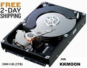 2000GB 2TB Hard Drive Internal SATA 3.5 KKMOON DVR FREE SHIPPING
