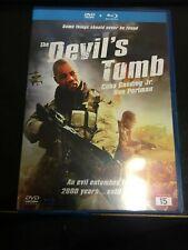 The Devil's Tomb Dvd Video + Blueray Disc (k107)