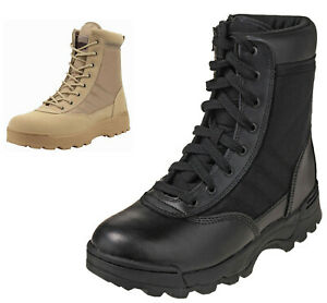 Mens Security Police & Army Combat Military Work Boots Size 6 to 11 UK