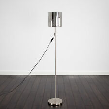 Contemporary New York Skyline Silver Chrome Floor Standing Light Standard Lamp