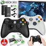Wireless Game Controller Gamepad Joystick Pad for Microsoft Xbox 360 & PC