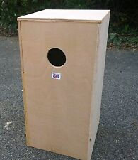 "Parrot Parakeet Nest Nesting Breeding Box  24"" x 12 x 12"