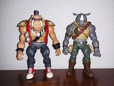 2013 TMNT Playmates Classic Collection Bebop & Rocksteady Loose Figures