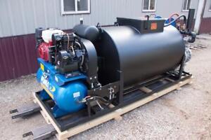 "Asphalt sealcoating 1-1/2"" pump, hydraulic, sealcoat tank  BIG A Custom (SOLD)"
