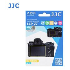 JJC LCP-Z7 LCD Film Screen Protector cover For Nikon Z6 Z7 Z 7 6 Camera 2 Pack