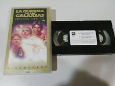 THE STAR WARS EDITION SPECIAL STAR WARS GEORGE LUCAS VHS SPANISH