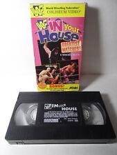 VTG Wrestling VHS WWF IN YOUR HOUSE VHS BRET HART MABEL GOLDUST SHAWN MICHAELS