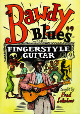 Learn BAWDY BLUES FOR FINGERSTYLE GUITAR Lessons Video DVD With Fred Sokolow