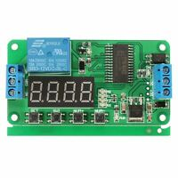 DC 12V Multifunction PLC Self-lock Delay Relay Cycle Timer Module Switch S3T6