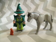 Playmobil spares wizard and horse figure ( will combine postage if possible)