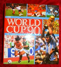 Orbis World Cup '90 CollectionFootball Sticker Album Complete Near Mint