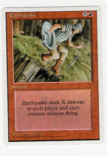 Earthquake - 4th Series - 1995 - Magic The Gathering