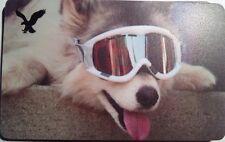 "Juno AMERICAN EAGLE Gift Card ""Holidays"" COLLECTIBLE NO VALUE 2012"