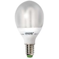 MEGAMAN MM18112i Energiesparlampe Ping Pong Lampe 7W E14 Warmweiß EEK A 230V
