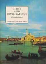 Folio Society Cities and Civilizations 1st Ed. Illustrated + Slipcase Hibbert