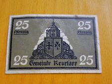 * Notgeld - Kevelaer 25 Pfennig 1921
