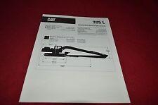 Caterpillar 325 L Excavator Dealer's Brochure DCPA4