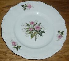1 Kuchenteller 19 cm  Seltmann Weiden  THERESIA  24021 Rosa Rose OHNE  Goldrand