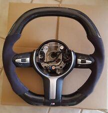 BMW Carbon Fiber Steering Wheel Alcantara M1 M2 M3 M4 M5 M6 1 2 3 4 5 6 7 Series