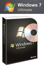 Microsoft Windows 7 Ultimate DVD CD 32Bit x86 Key Code MS Win Deutsch Aktivieren