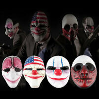Minch Halloween Clown Masks for Masquerade Party Scary Clowns Mask Horrible M qi